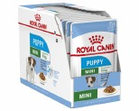 ROYAL CANIN MINI PUPPY WET FOOD GRAVY POUCHES 12X85G
