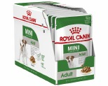 ROYAL CANIN MINI ADULT WET FOOD GRAVY POUCH 12X85G