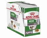 ROYAL CANIN MINI AGEING +12 WET FOOD GRAVY POUCH 12X85G