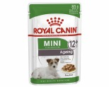 ROYAL CANIN MINI AGEING +12 WET FOOD GRAVY POUCH 85G