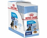 ROYAL CANIN MAXI PUPPY WET FOOD GRAVY POUCH 10X140G