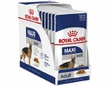 ROYAL CANIN MAXI ADULT WET FOOD GRAVY POUCH 10X140G