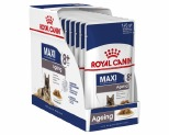 ROYAL CANIN MAXI AGEING +8 WET FOOD GRAVY POUCH 10X140G