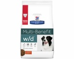 HILLS PRESCRIPTION DIET CANINE W/D LOW FAT DIABETIC DIGESTIVE CARE 3.85KG