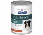 HILL'S PRESCRIPTION DIET W/D DIGESTIVE/WEIGHT/GLUCOSE MANAGEMENT WET DOG FOOD WITH CHICKEN CAN 370G