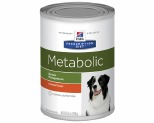 HILL'S PRESCRIPTION DIET METABOLIC WEIGHT MANAGEMENT WET DOG FOOD CHICKEN FLAVOUR CAN 370G