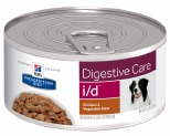 HILLS PRESCRIPTION DIET CANINE I/D DIGESTIVE CARE HEALTH CHICKEN VEGETABLE STEW 156G