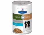 HILLS PRESCRIPTION DIET CANINE METABOLIC PLUS MOBILITY CAN 354G