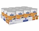HILL'S PRESCRIPTION DIET C/D MULTICARE URINARY CARE WET DOG FOOD CHICKEN FLAVOUR CANS 12X370G