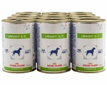 ROYAL CANIN VETERINARY DIET DOG URINARY S/O CANS 410G (X12)**