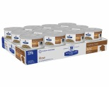 HILL'S PRESCRIPTION DIET K/D KIDNEY CARE WET DOG FOOD CHICKEN & VEGETABLE STEW CANS 24X156G