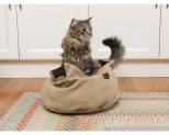 ALL FOR PAWS (AFP) WILD AND NATURE CAT COMFY BED**
