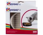 SAVIC WHISKER FOOD TRAY 1 BLACK OR WHITE - SMALL*+