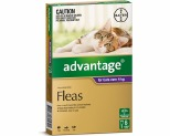 ADVANTAGE FOR LARGE CATS OVER 4KG 6 PACK (PURPLE)