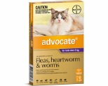 ADVOCATE FOR LARGE CATS OVER 4KG 6 PACK (PURPLE)