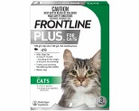 FRONTLINE PLUS FOR CATS 3 PACK (GREEN)