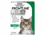 FRONTLINE PLUS FOR CATS 6 PACK (GREEN)