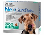 NEXGARD FOR DOGS 10.1-25KG 3'S GREEN