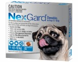 NEXGARD FOR DOGS 4.1-10KG 6'S