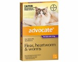 ADVOCATE PURPLE FOR CATS OVER 4KG  (1PK)