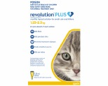 REVOLUTION PLUS FOR SMALL CATS AND KITTENS 1.25-2.5KG 3 PACK (YELLOW)