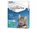 COMFORTIS FOR LARGE CATS 5.5-11.2KG 3 PACK (GREEN)