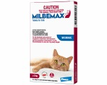MILBEMAX FLAVOURED WORMING TABLET FOR CATS OVER 2KG 2 PACK