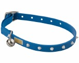GUMMI CAT COLLAR BLUE/GLOW SPIKE