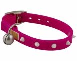 GUMMI KITTEN COLLAR PINK/GLOW SPIKE