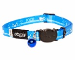 ROGZ KIDDYCAT SAFELOC COLLAR ROYAL BIRDS 8MM