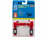 CATIT CAT HARNESS ADJUSTABLE LARGE RED