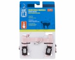 CATIT CAT HARNESS ADJUSTABLE LARGE PINK*+