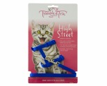 TROUBLE AND TRIX HARNESS SET HIGH ST BLUE