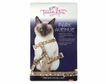 TROUBLE AND TRIX HARNESS SET PARK AVE CIRC BEIGE