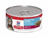 HILL'S SCIENCE DIET ENTRÉE WET CAT FOOD OCEAN FISH ADULT CAN 156G**
