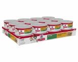 HILL'S SCIENCE DIET WET CAT FOOD TENDER CHICKEN DINNER KITTEN CANS 24X156G