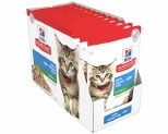 HILL'S SCIENCE DIET WET CAT FOOD OCEAN FISH KITTEN POUCHES 12X85G