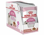 ROYAL CANIN FELINE INSTINCTIVE KITTEN FOOD IN GRAVY 85G 12 PACK