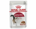 ROYAL CANIN FELINE INSTINCTIVE ADULT CAT FOOD IN GRAVY 85G