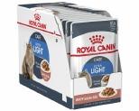 ROYAL CANIN ULTRA LIGHT CARE GRAVY ADULT CAT WET FOOD 85G 12 PACK