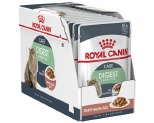 ROYAL CANIN FELINE DIGESTIVE SENSITIVE CARE CAT FOOD IN GRAVY 85G 12 PACK