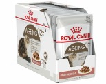 ROYAL CANIN FELINE AGEING 12+ SENIOR CAT FOOD IN GRAVY 85G 12 PACK