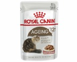 ROYAL CANIN FELINE AGEING 12+ SENIOR CAT FOOD IN GRAVY 85G