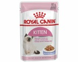 ROYAL CANIN FELINE JELLY KITTEN FOOD 85G