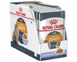 ROYAL CANIN FELINE INTENSE BEAUTY CAT FOOD IN JELLY 85G 12 PACK