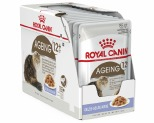 ROYAL CANIN FELINE AGEING 12+ CAT FOOD IN JELLY 85G 12 PACK