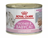 ROYAL CANIN MOTHER & BABYCAT ADULT CAT WET FOOD 195G