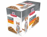 HILL'S SCIENCE DIET NEUTERED CAT WET CAT FOOD CHICKEN YOUNG ADULT POUCHES 12X85G