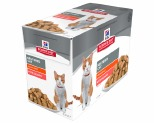 HILLS SCIENCE DIET FELINE ADULT NEUTERED SALMON POUCHES 85GX12