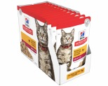 HILL'S SCIENCE DIET WET CAT FOOD CHICKEN ADULT POUCHES 12X85G